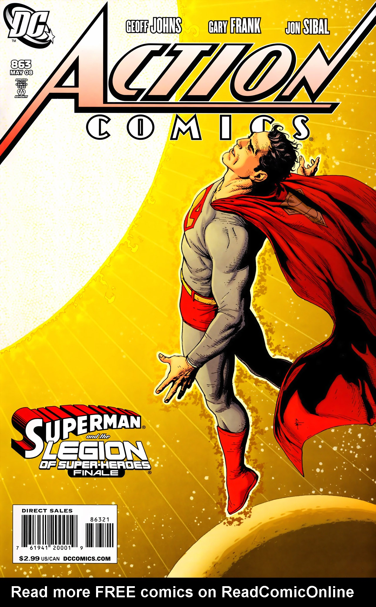 Read online Action Comics (1938) comic -  Issue #863 - 1