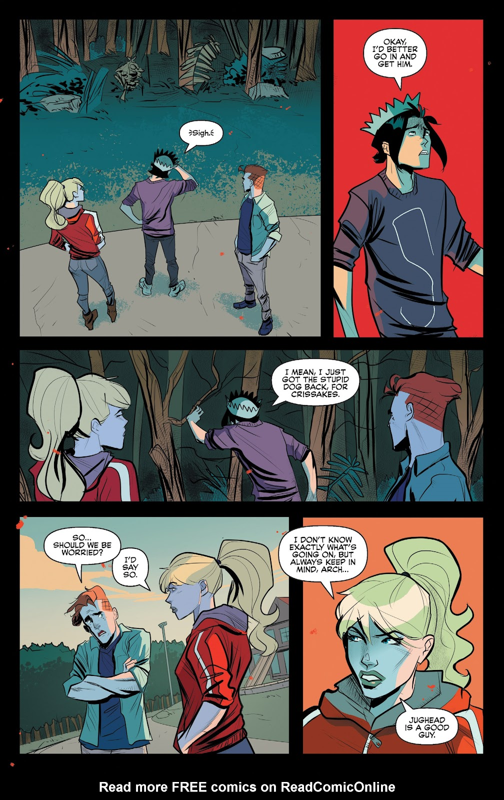 Read online Jughead The Hunger comic -  Issue #12 - 11