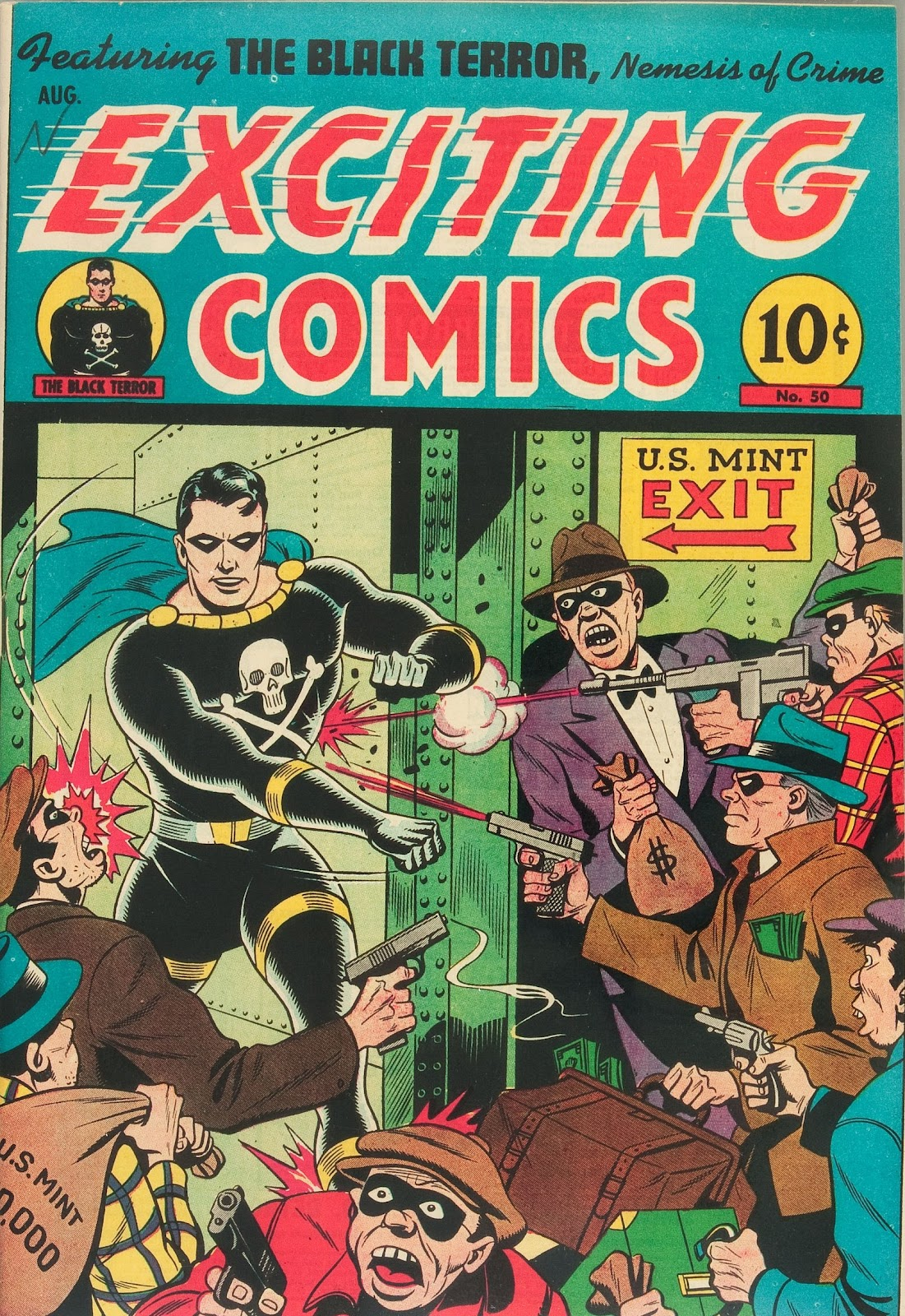 Exciting Comics (1940) issue 50 - Page 1