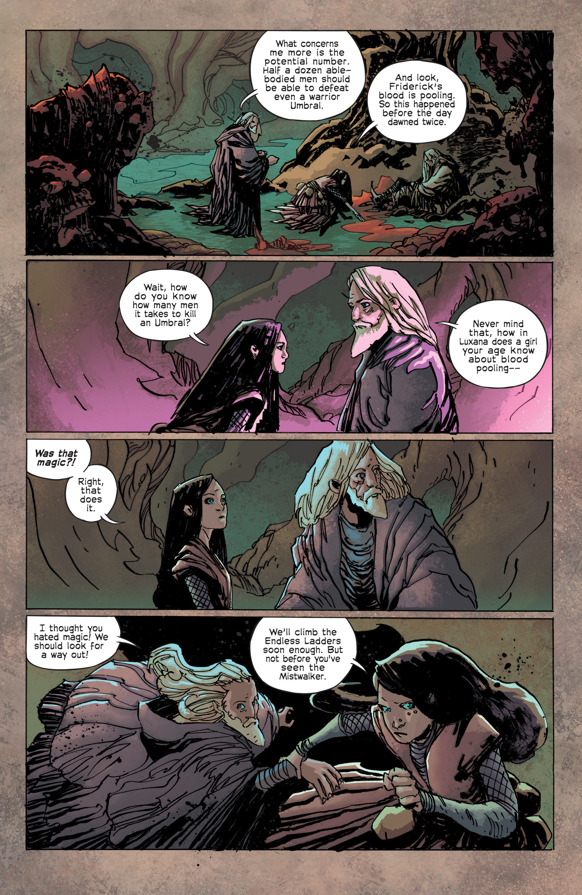 Read online Umbral comic -  Issue #3 - 8