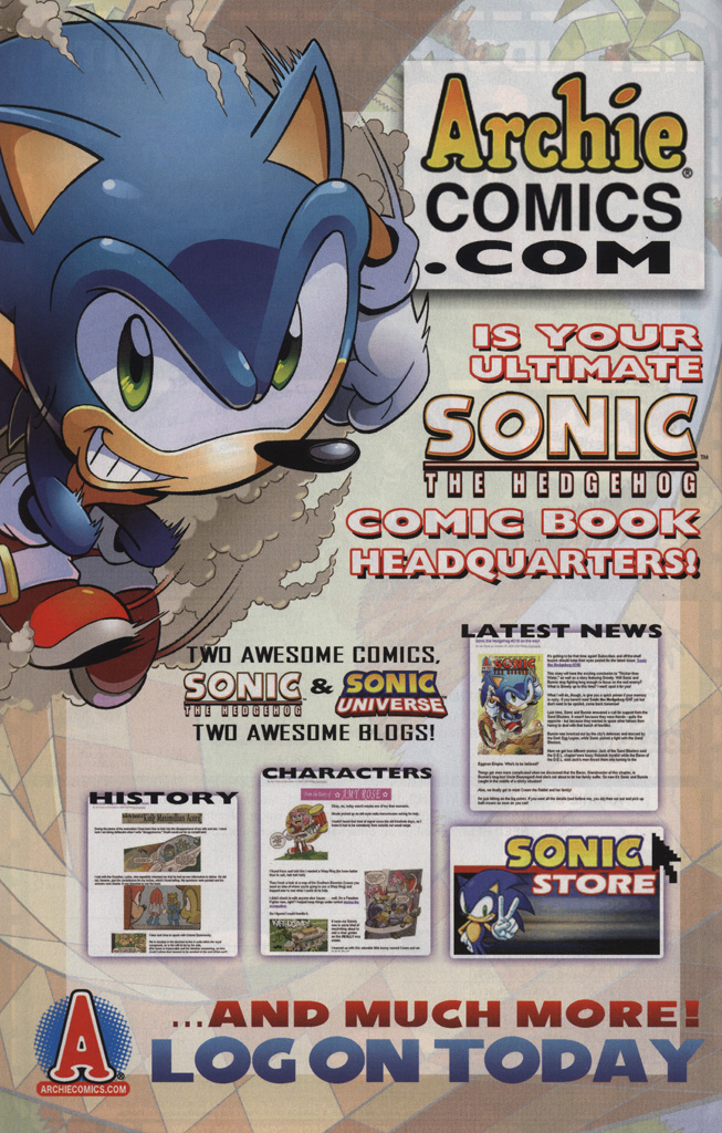 Read online Sonic Universe comic -  Issue #25 - 26