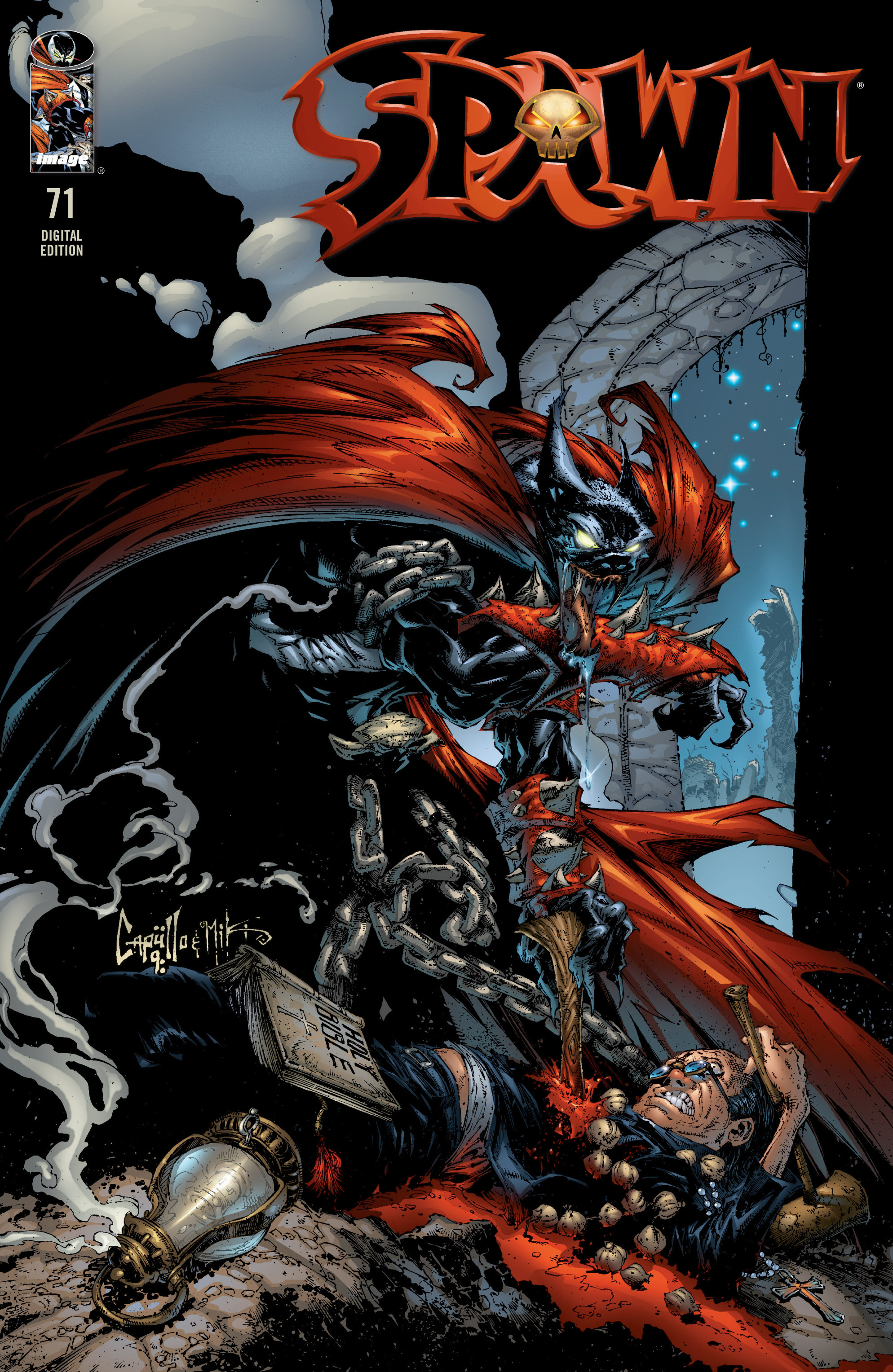 Spawn 71 Page 1