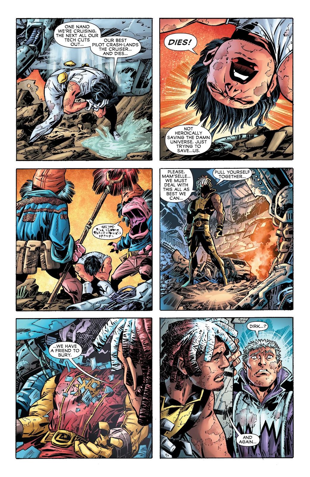 Legion of Super-Heroes (2011) Issue #17 #18 - English 6