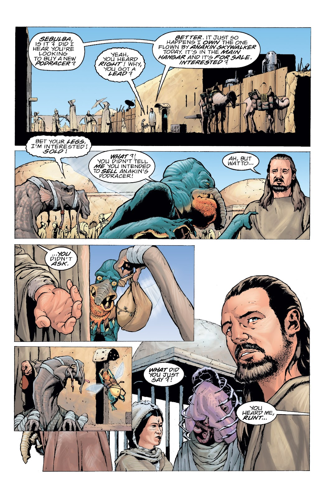Read online Star Wars Legends: Rise of the Sith - Epic Collection comic -  Issue # TPB 2 (Part 5) - 9