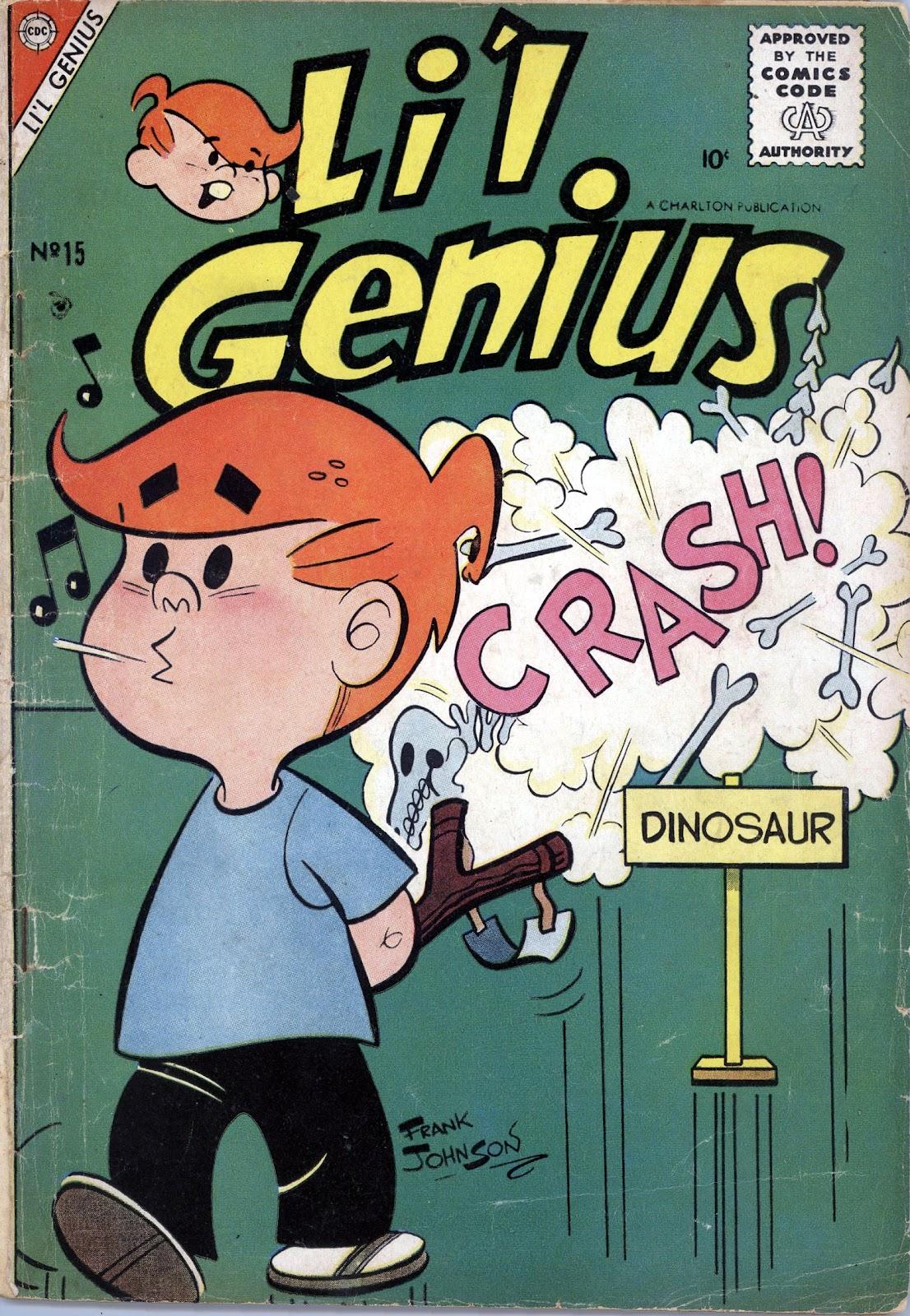 Lil Genius 15 Page 1