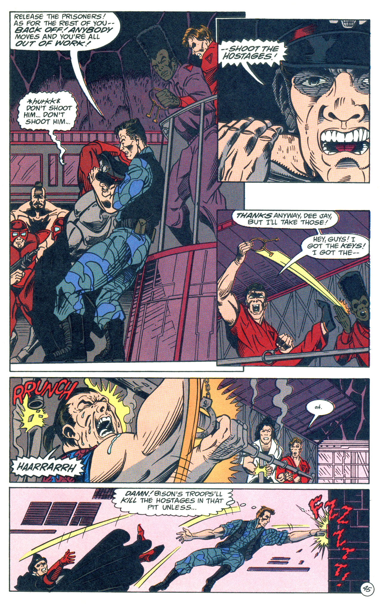 Read online Street Fighter: The Battle For Shadaloo comic -  Issue # Full - 46