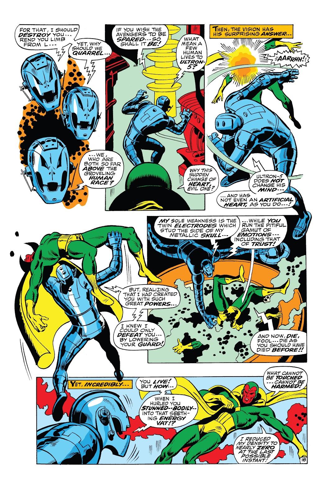 Read online Marvel Tales: Avengers comic -  Issue # Full - 44