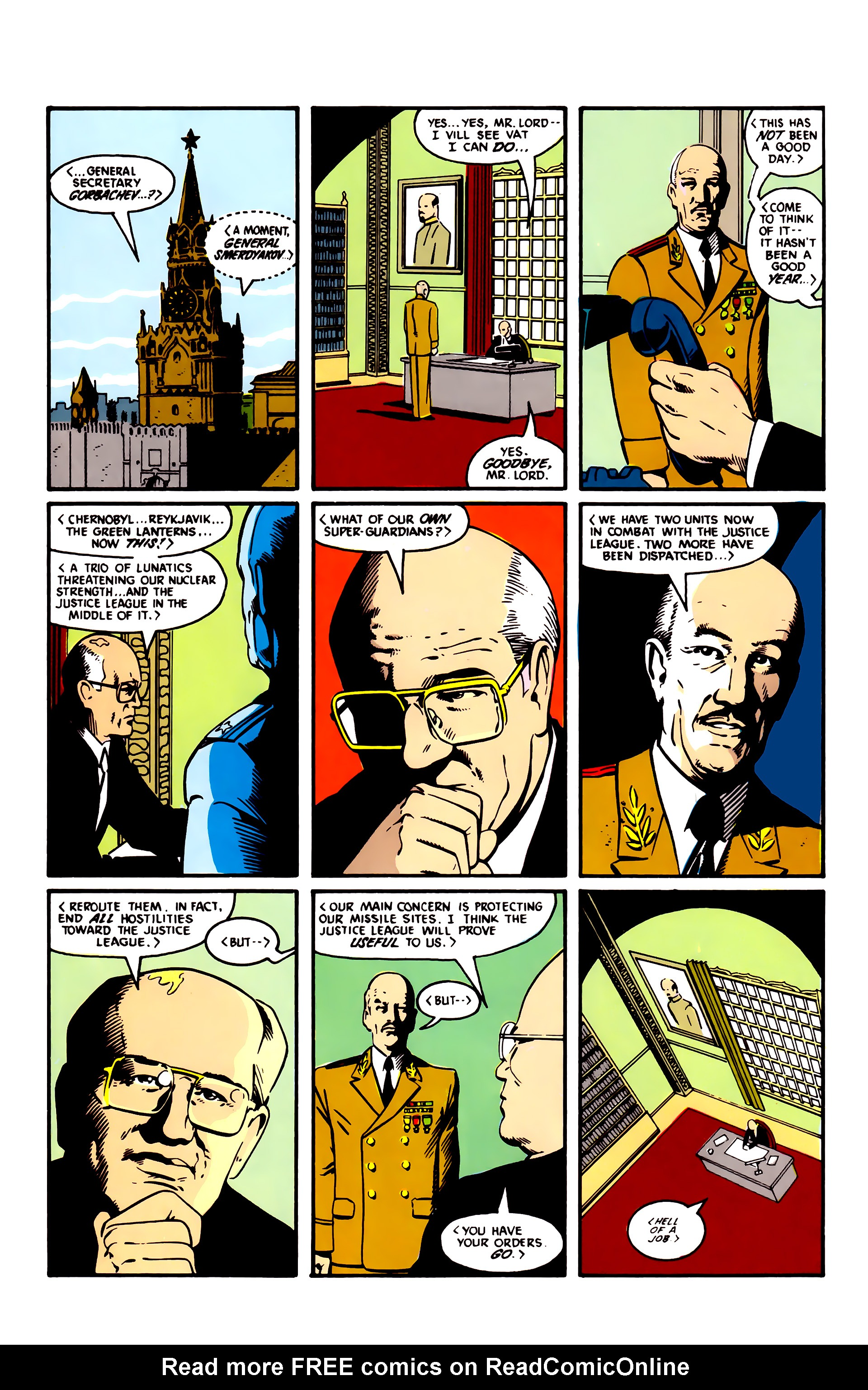 Read online Justice League (1987) comic -  Issue #3 - 12
