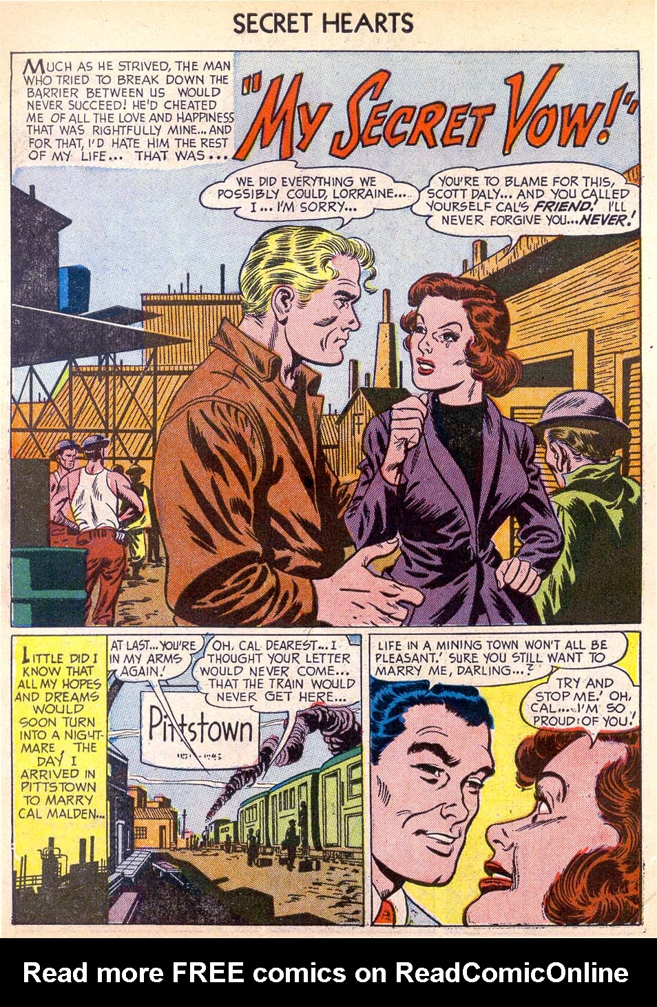 Read online Secret Hearts comic -  Issue #11 - 10