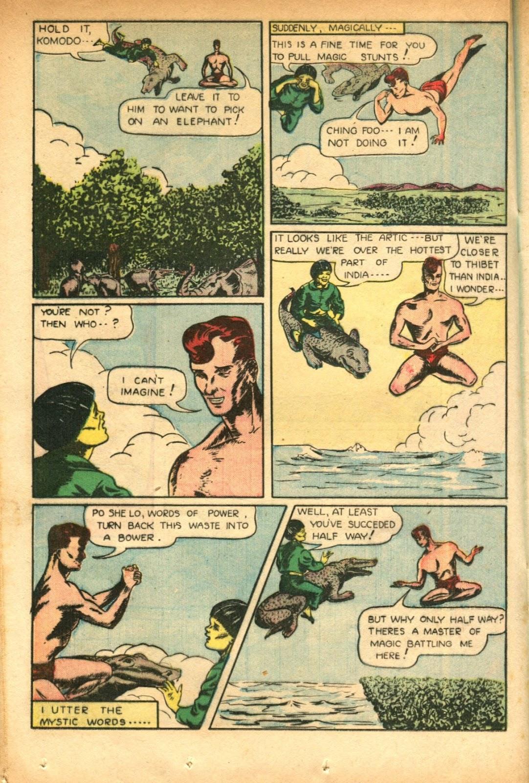 Read online Super-Magician Comics comic -  Issue #51 - 28