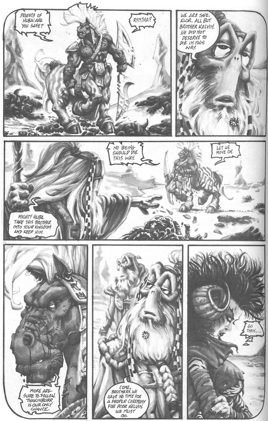 Read online Animal Mystic comic -  Issue #4 - 15