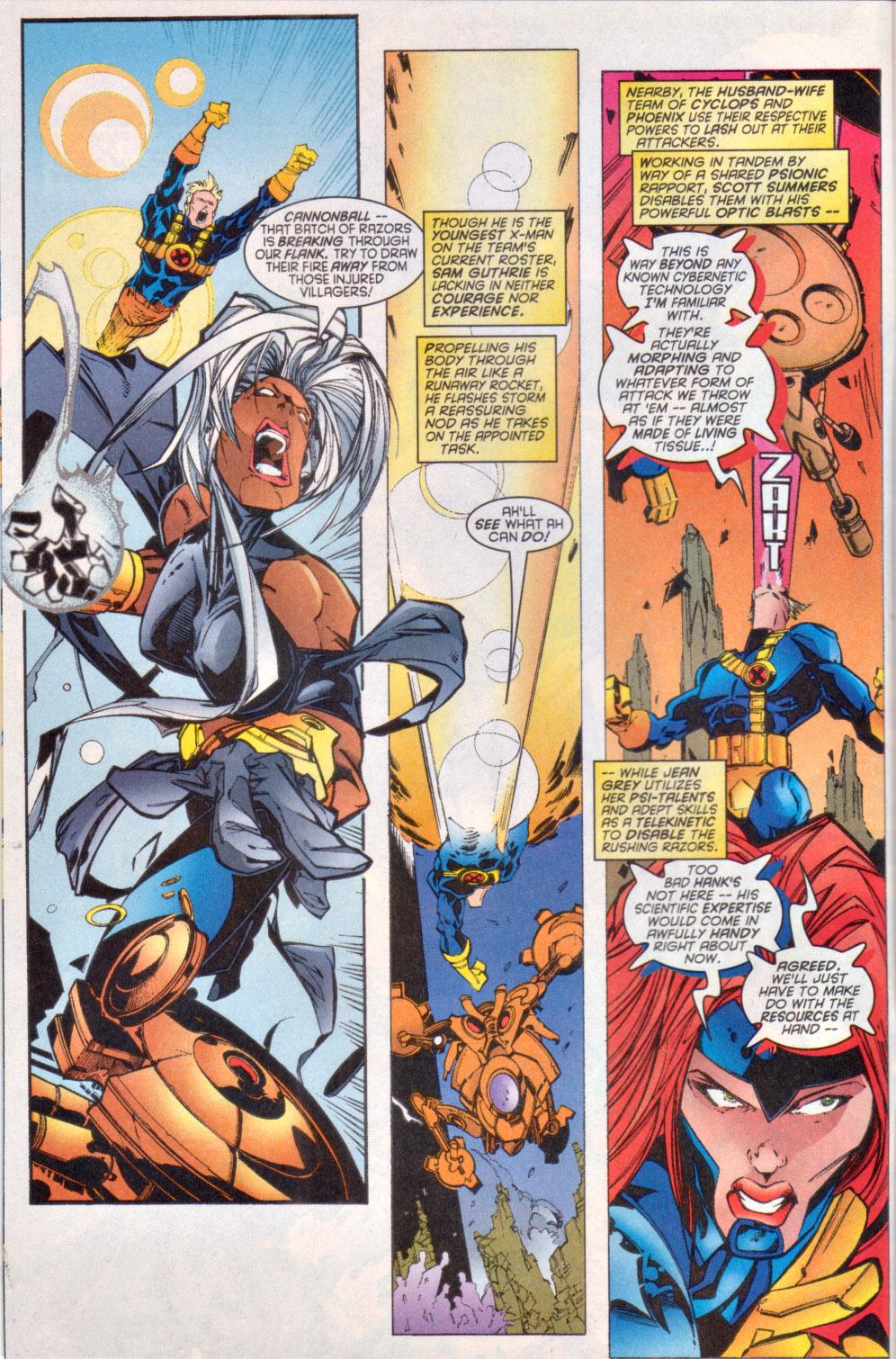 Read online Uncanny X-Men (1963) comic -  Issue # _Annual 1997 - 4