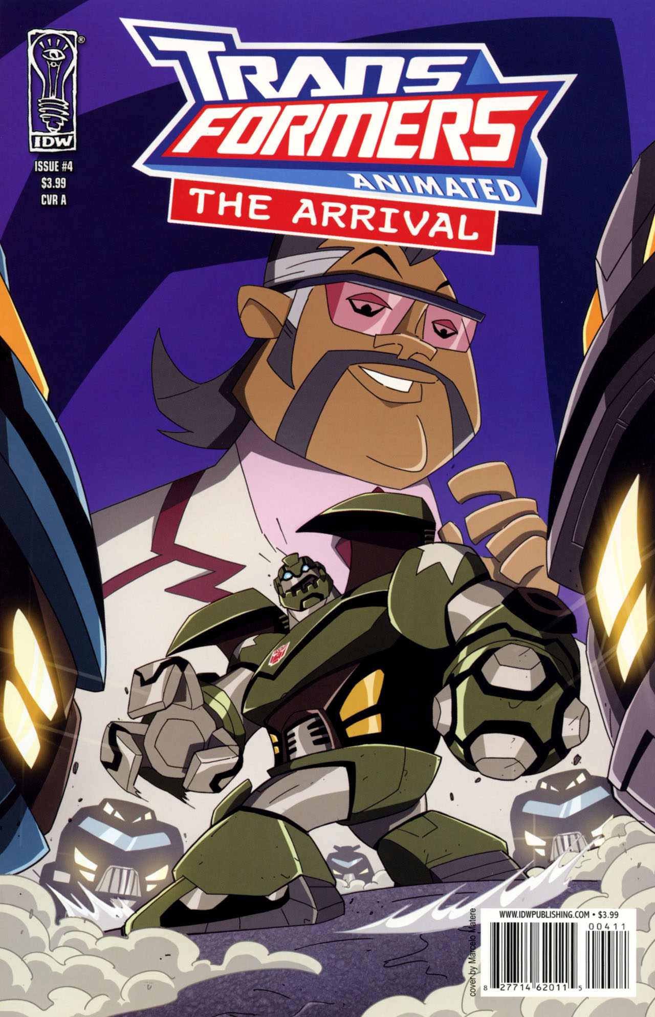 Read online Transformers Animated: The Arrival comic -  Issue #4 - 1