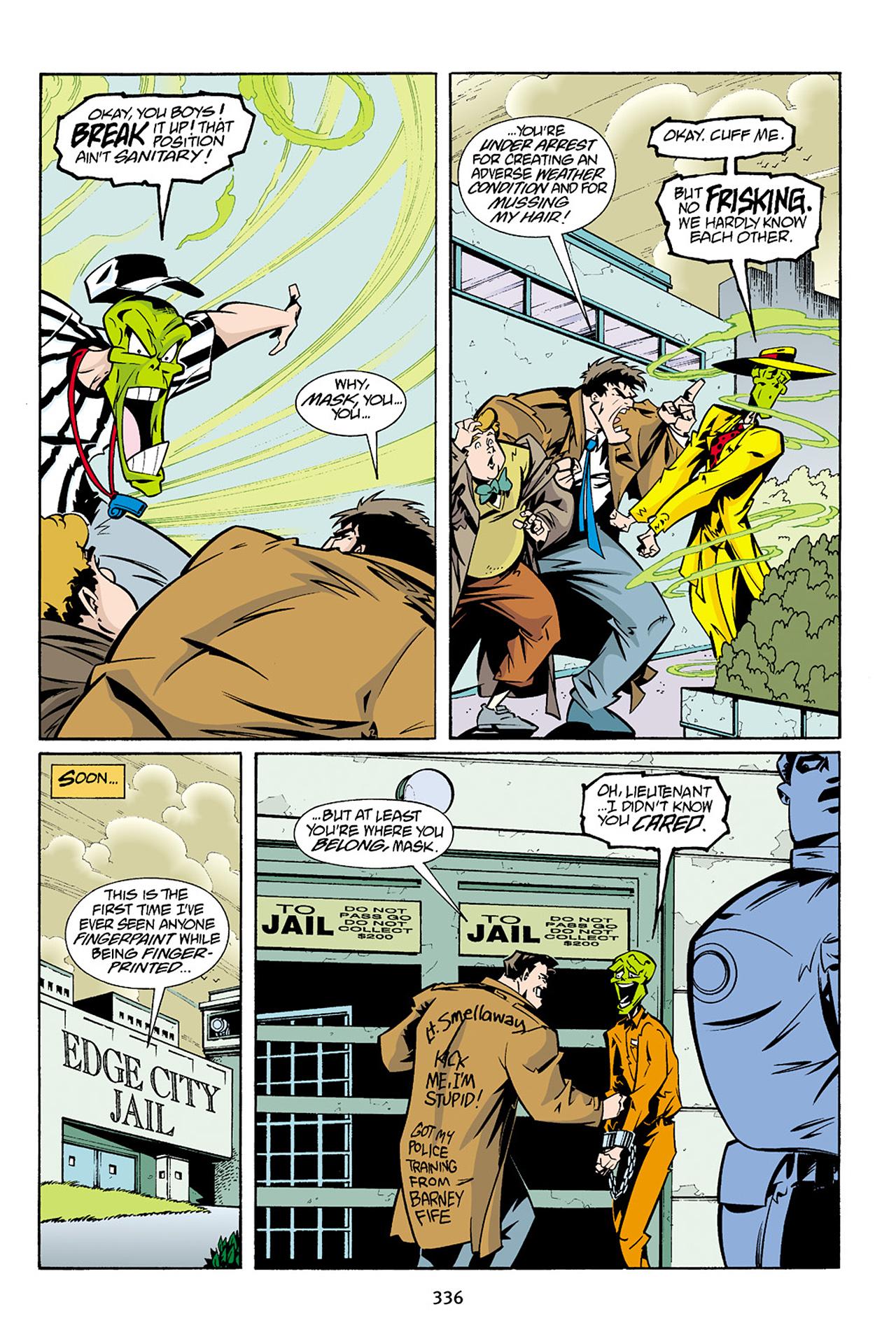 Read online Adventures Of The Mask Omnibus comic -  Issue #Adventures Of The Mask Omnibus Full - 335