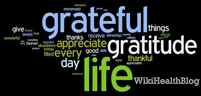 Cultivating Attitude of gratitude : Wiki Health Blog