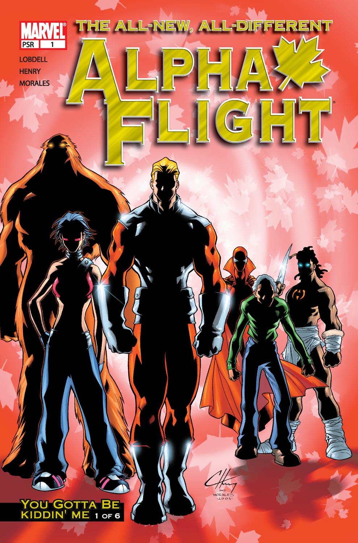 Alpha Flight (2004) issue 1 - Page 1