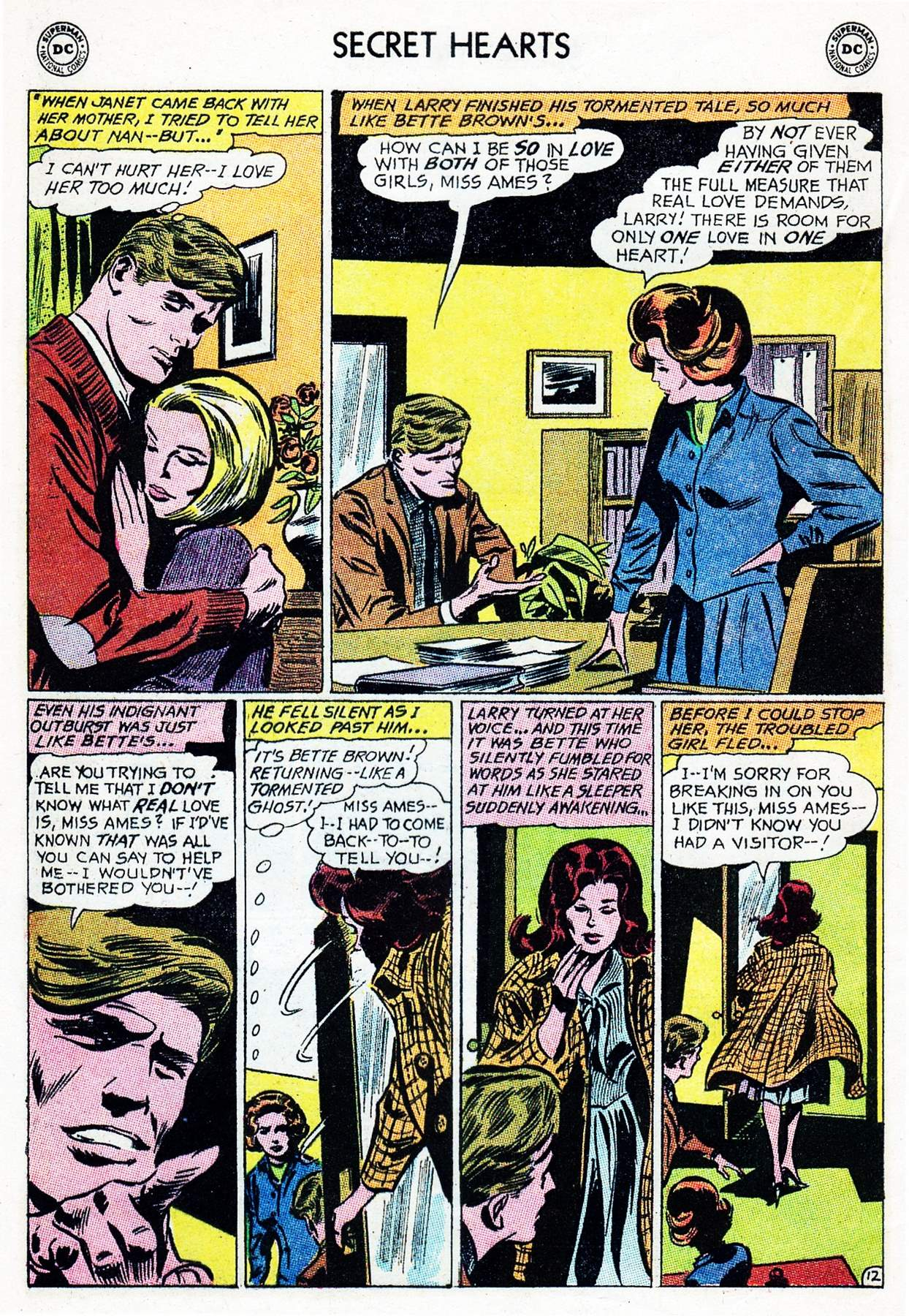 Read online Secret Hearts comic -  Issue #105 - 32