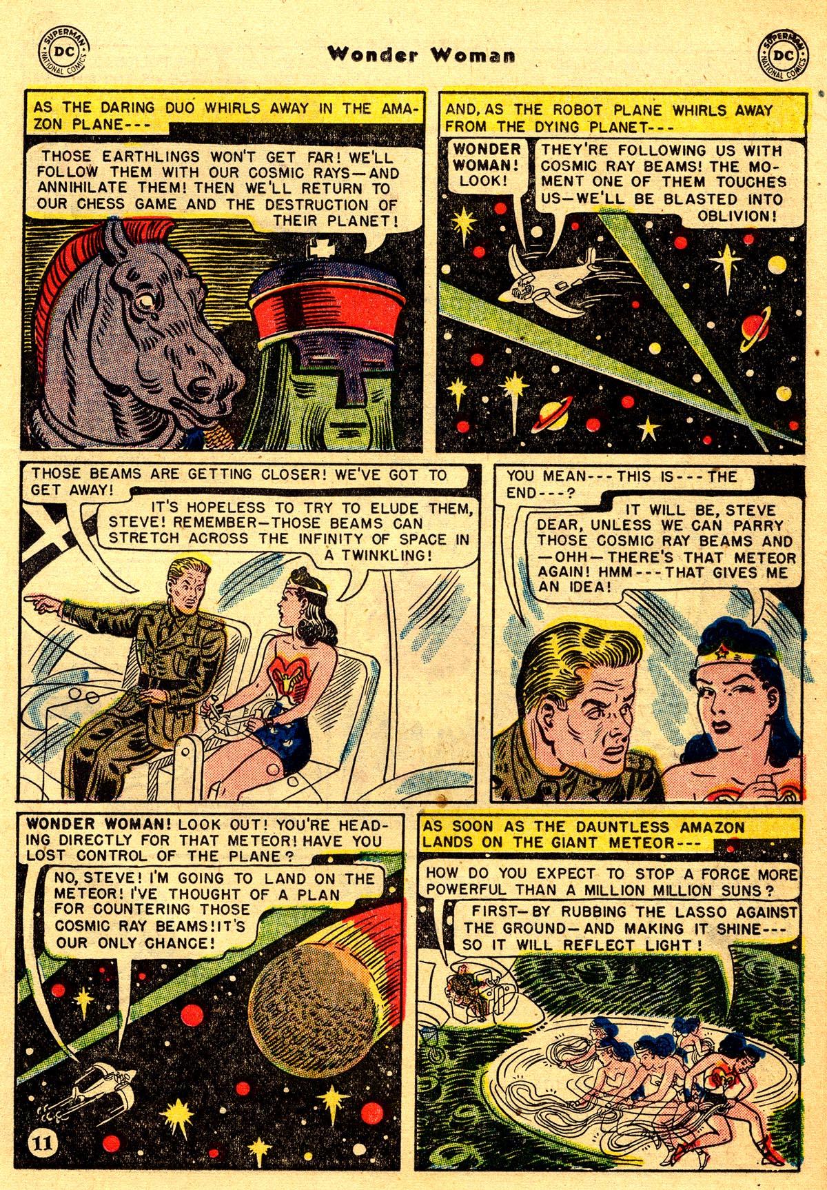Read online Wonder Woman (1942) comic -  Issue #55 - 25