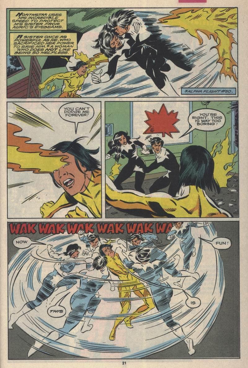 Read online Alpha Flight (1983) comic -  Issue #84 - 17