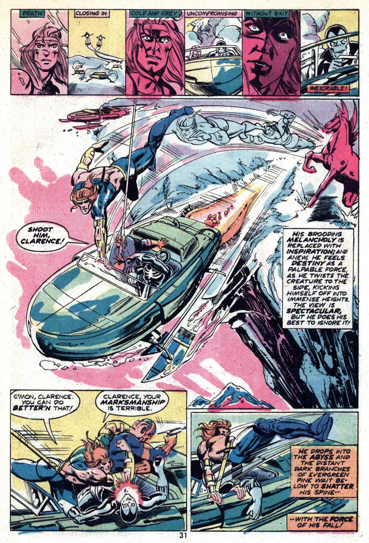 Read online Amazing Adventures (1970) comic -  Issue #29 - 33