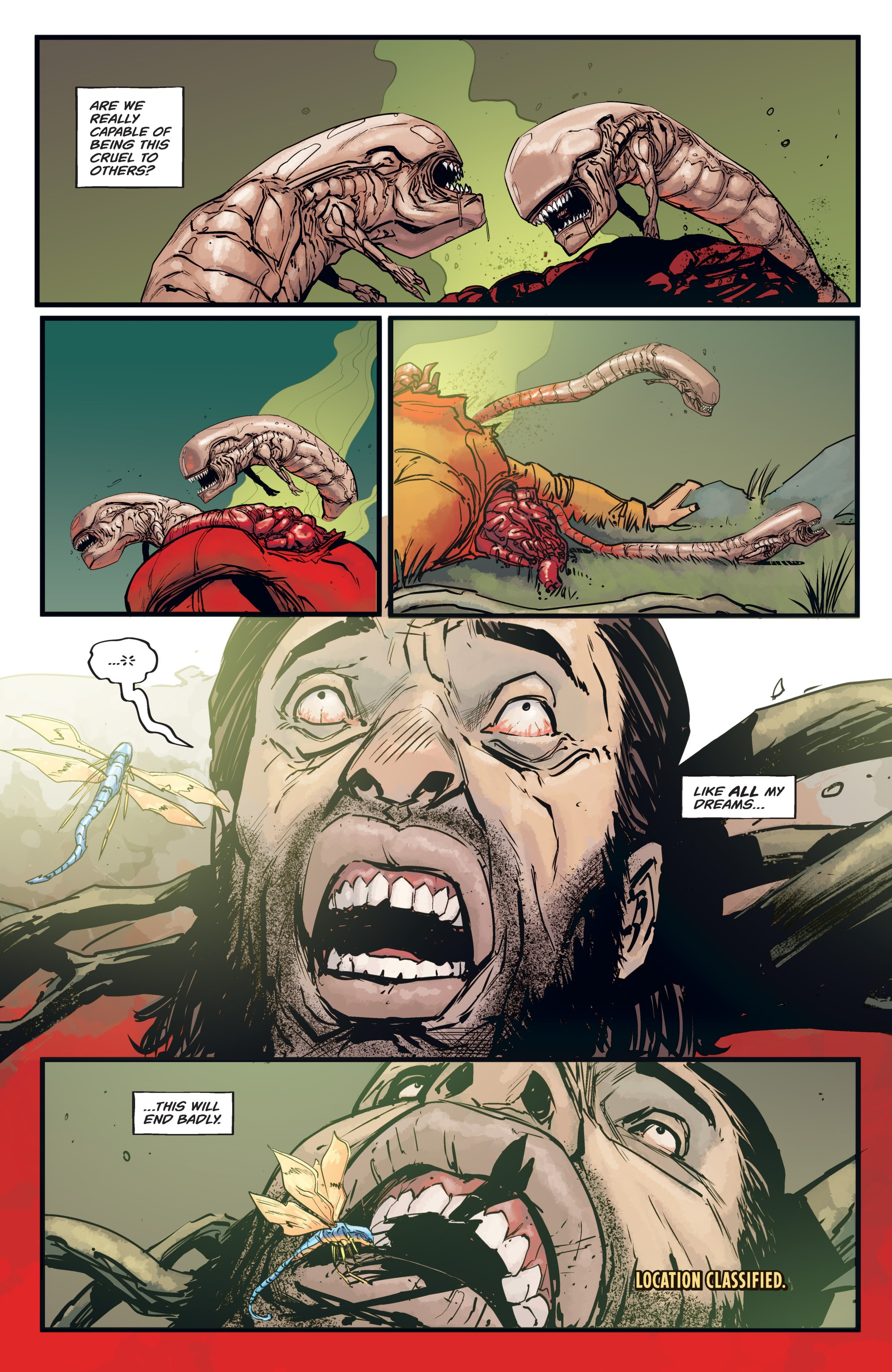 Read online Aliens: Resistance comic -  Issue # _TPB - 76