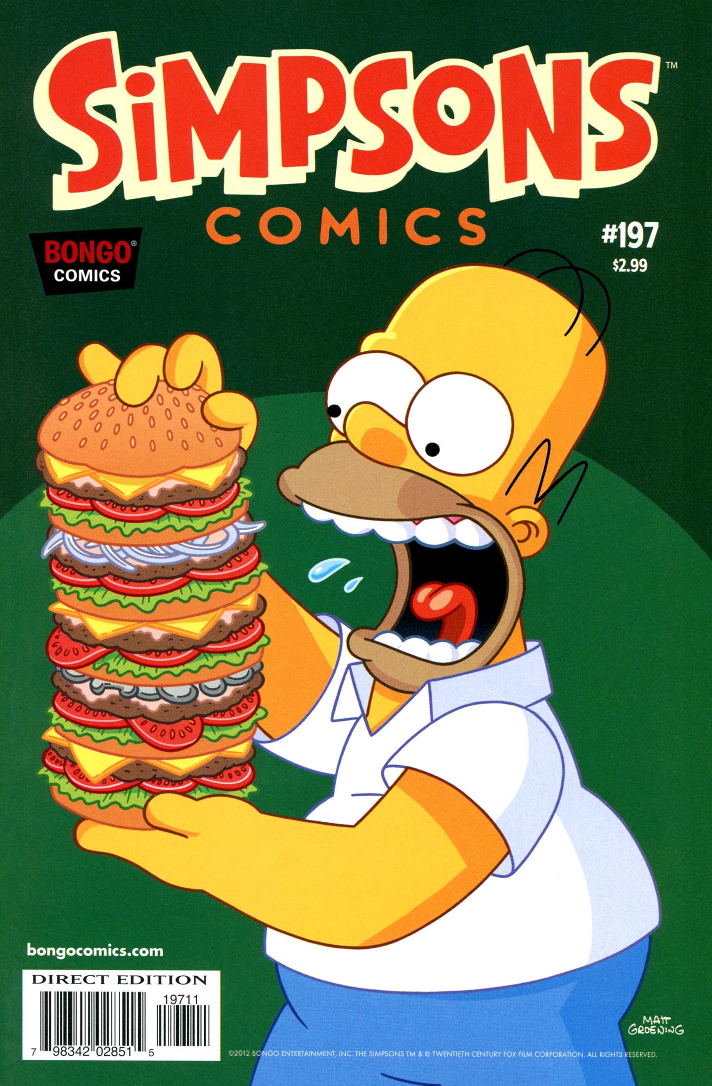Simpsons Comics 197 Page 1