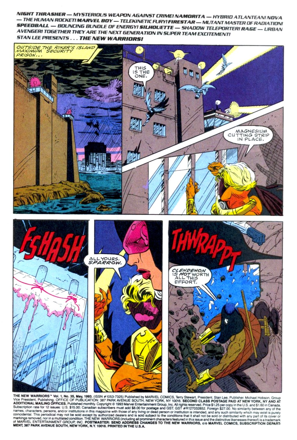 The New Warriors Issue #35 #39 - English 2