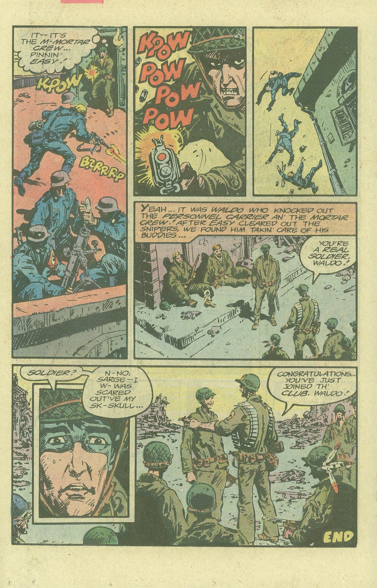 Read online Sgt. Rock comic -  Issue #380 - 17