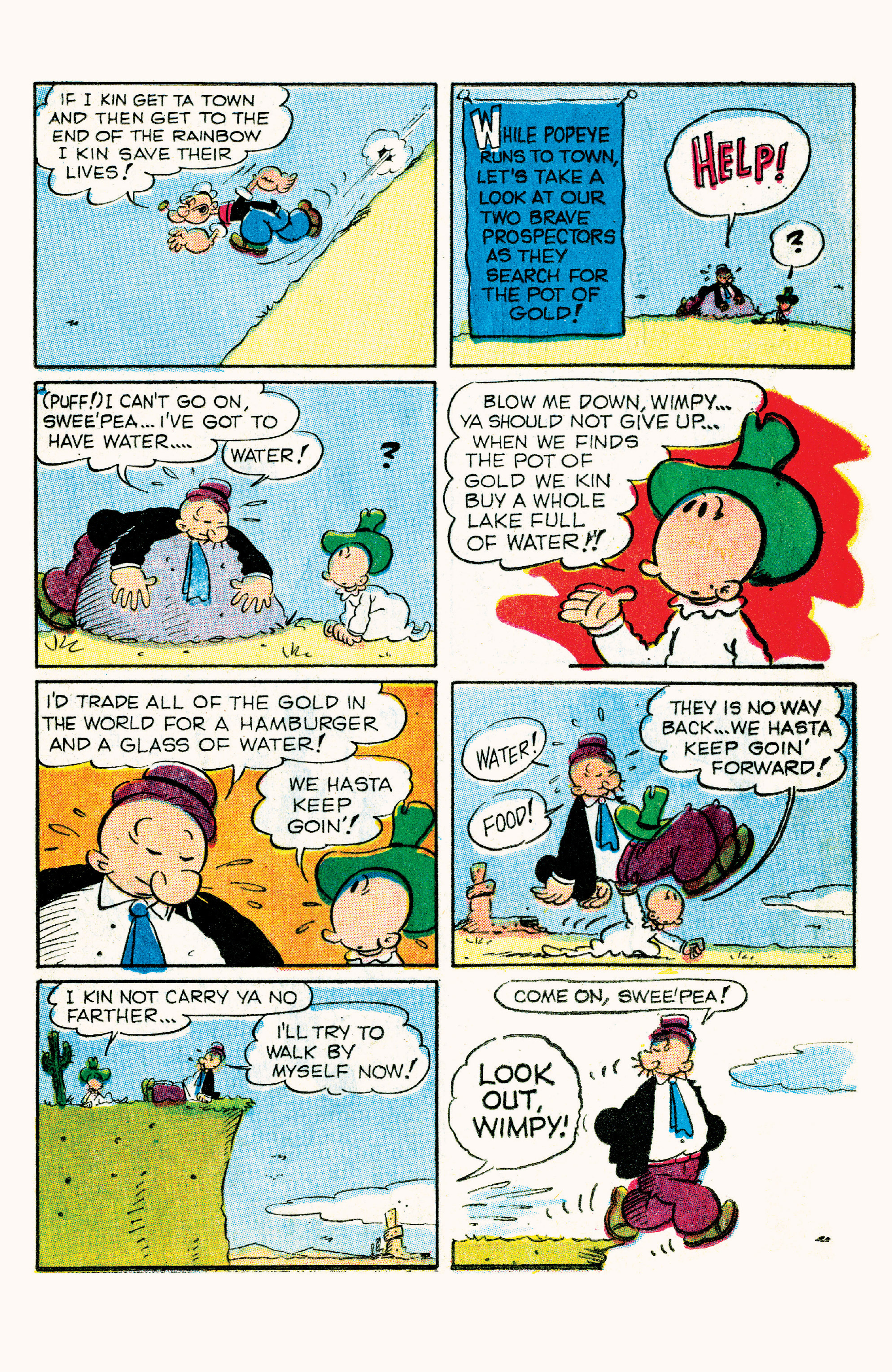 Read online Classic Popeye comic -  Issue #57 - 25