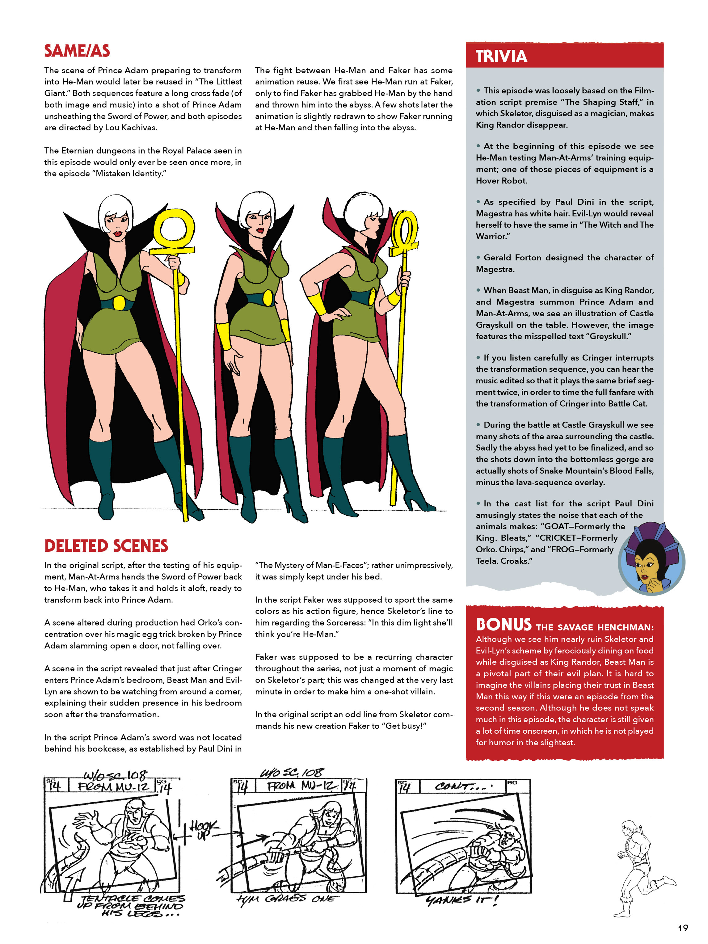 Read online He-Man and She-Ra: A Complete Guide to the Classic Animated Adventures comic -  Issue # TPB (Part 1) - 19
