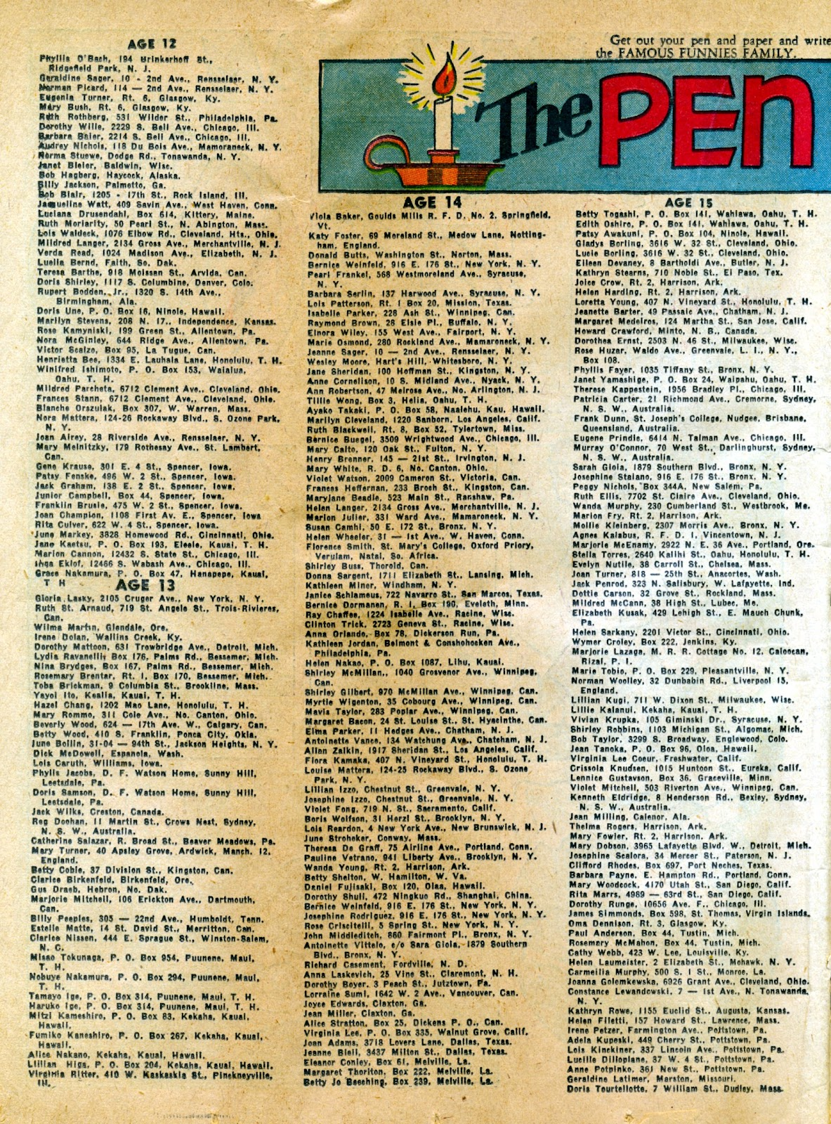 Read online Famous Funnies comic -  Issue #82 - 34