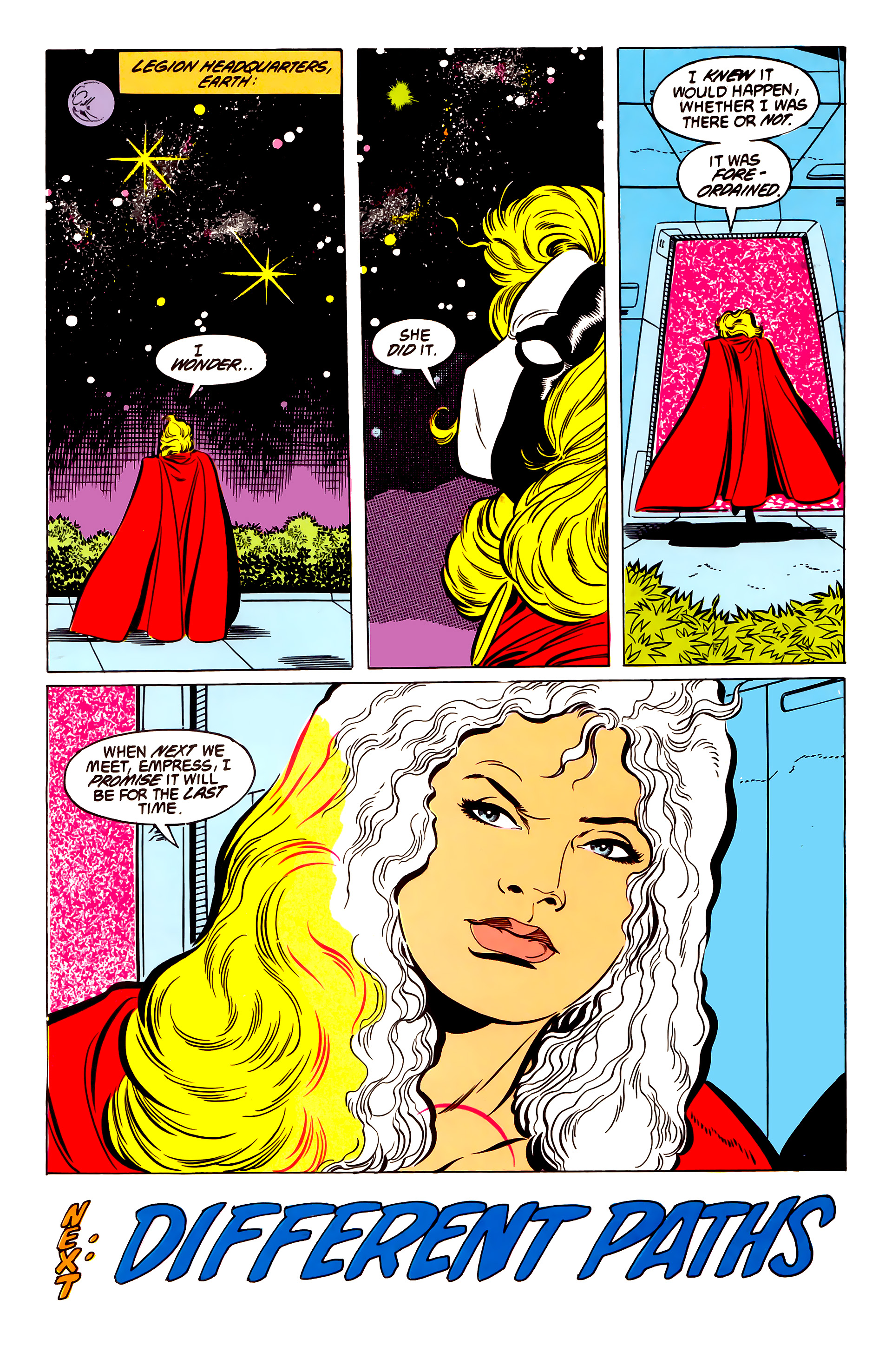 Legion of Super-Heroes (1984) 54 Page 27