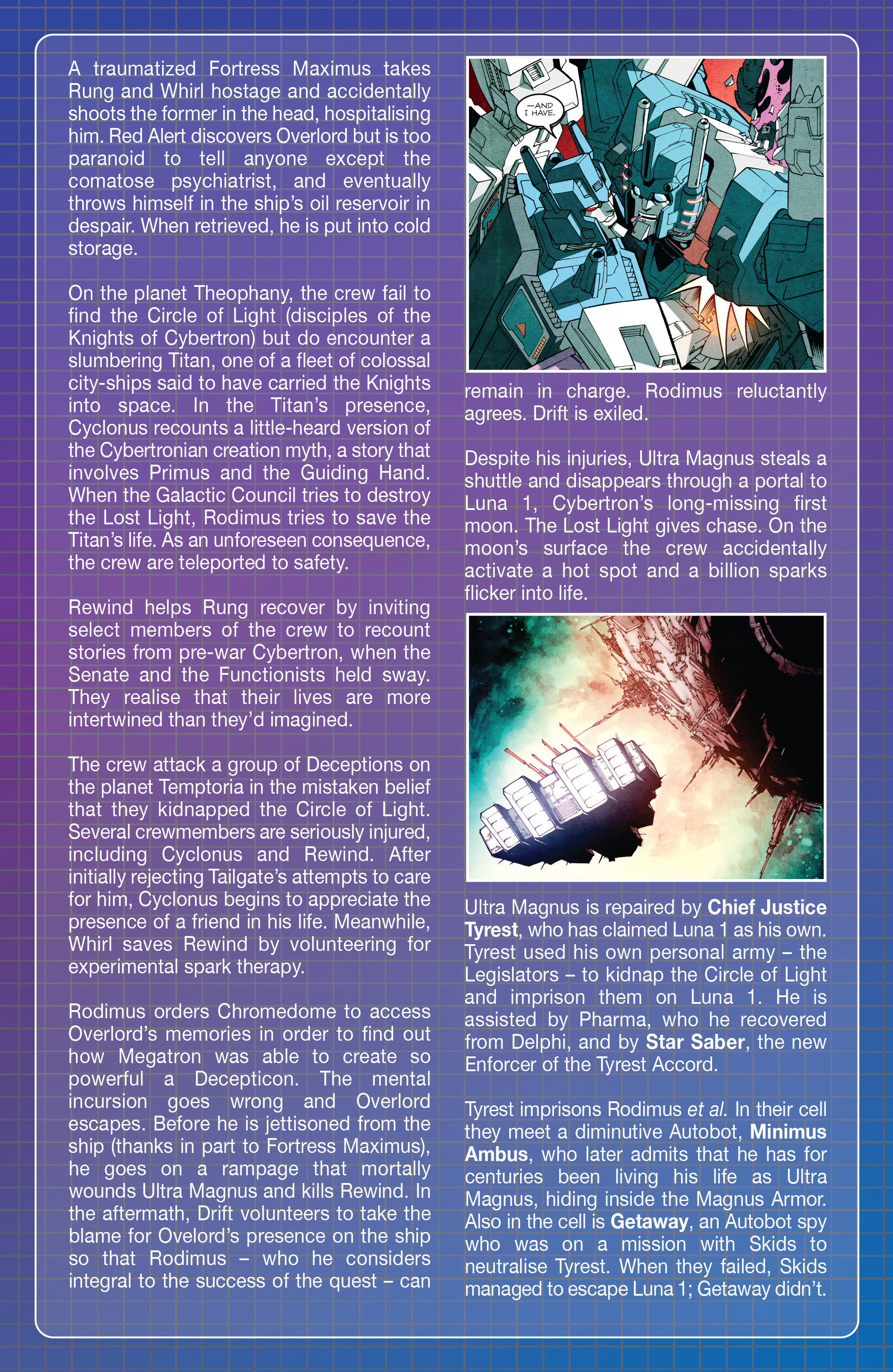 Read online Transformers: Lost Light comic -  Issue #1 - 25