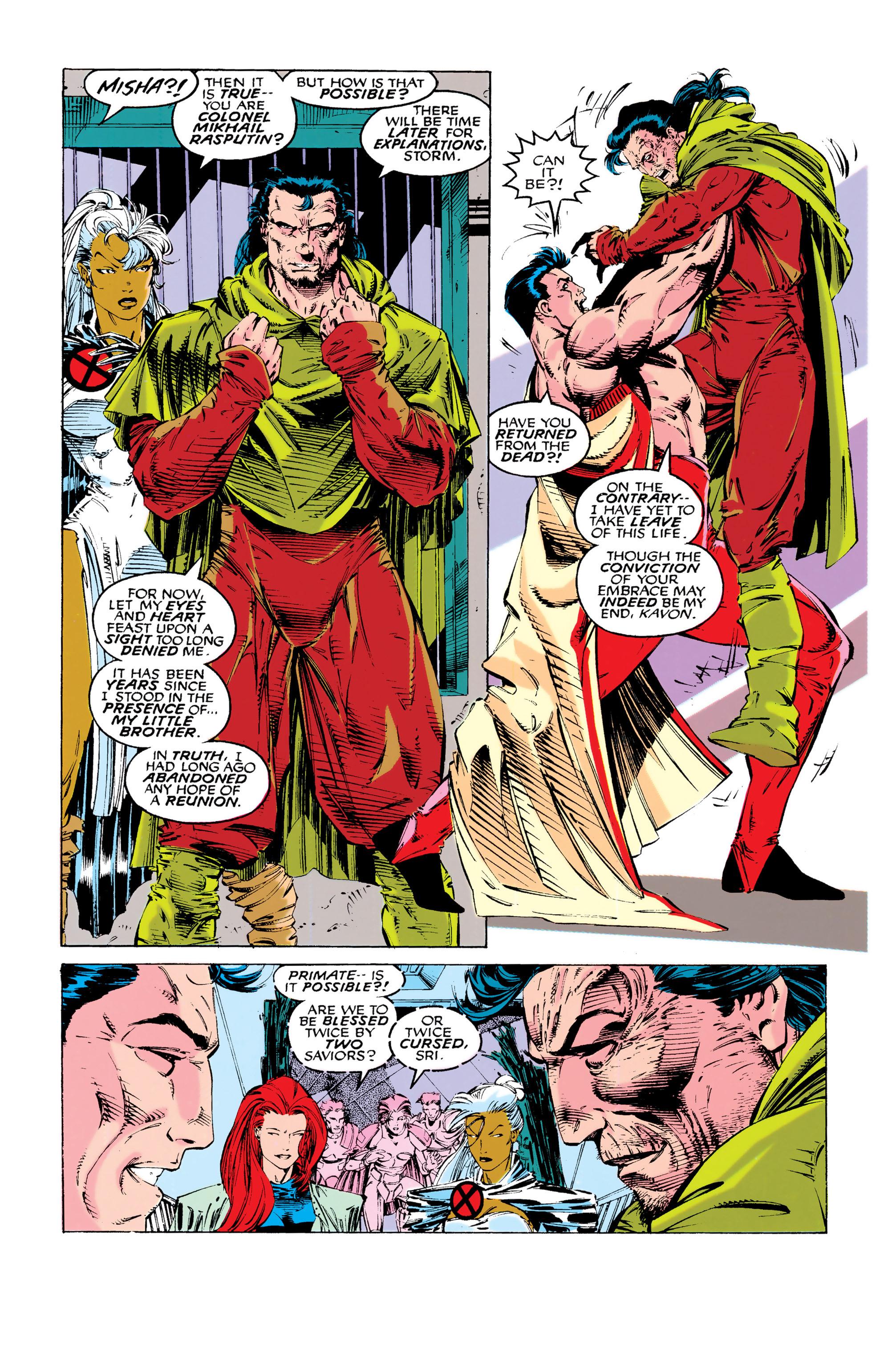 Read online Uncanny X-Men (1963) comic -  Issue #286 - 3