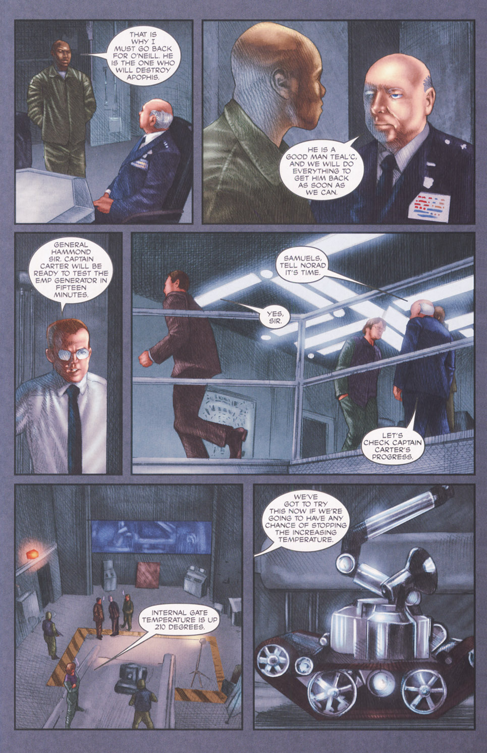 Read online Stargate SG-1: POW comic -  Issue #2 - 19
