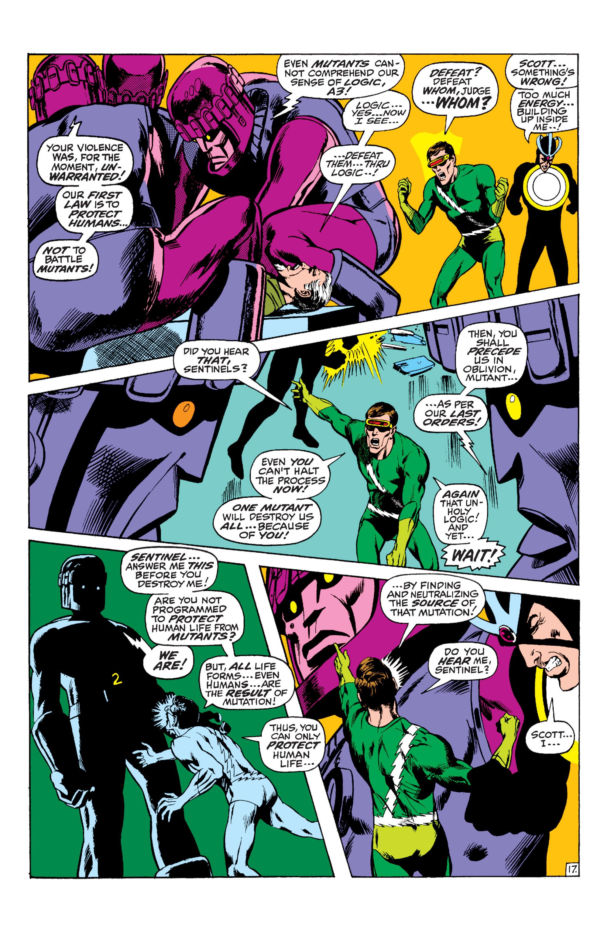 Read online Uncanny X-Men (1963) comic -  Issue #59 - 18