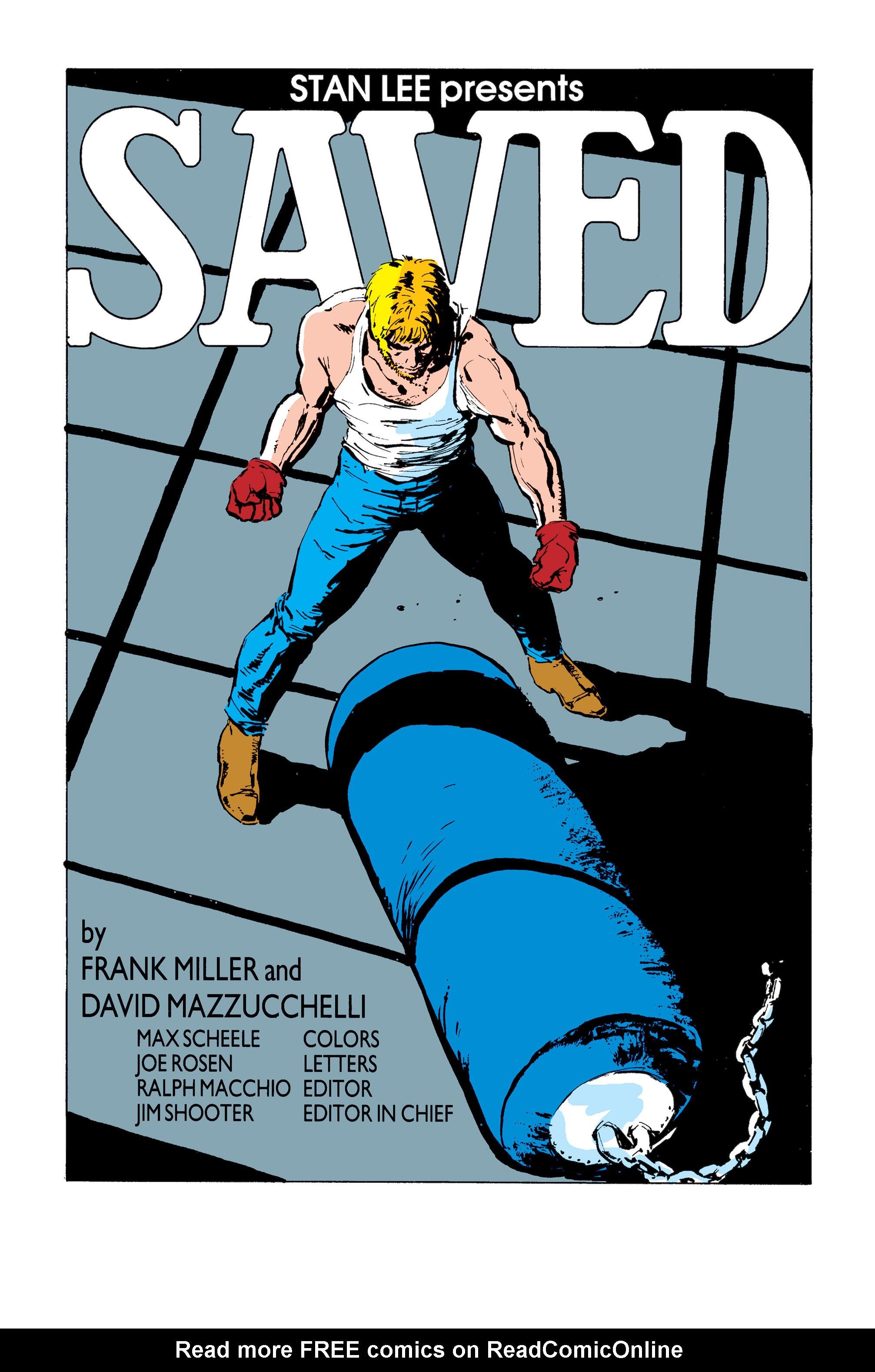 Read online Daredevil: Born Again comic -  Issue # Full - 125