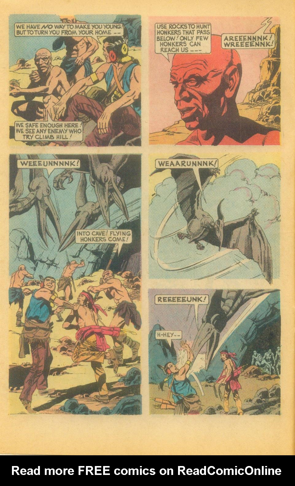 Read online Turok, Son of Stone comic -  Issue #87 - 6