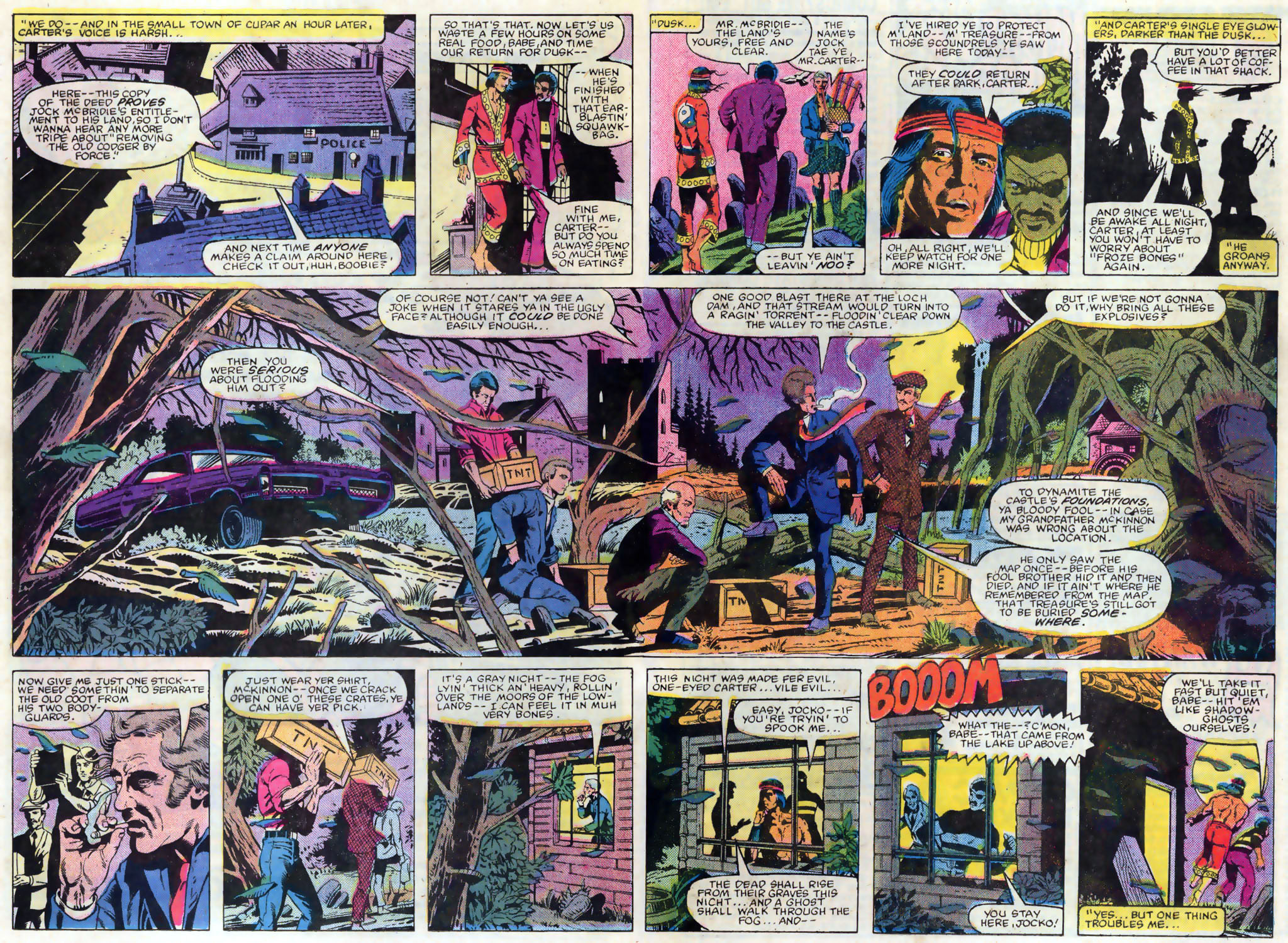 Read online Master of Kung Fu (1974) comic -  Issue #120 - 14