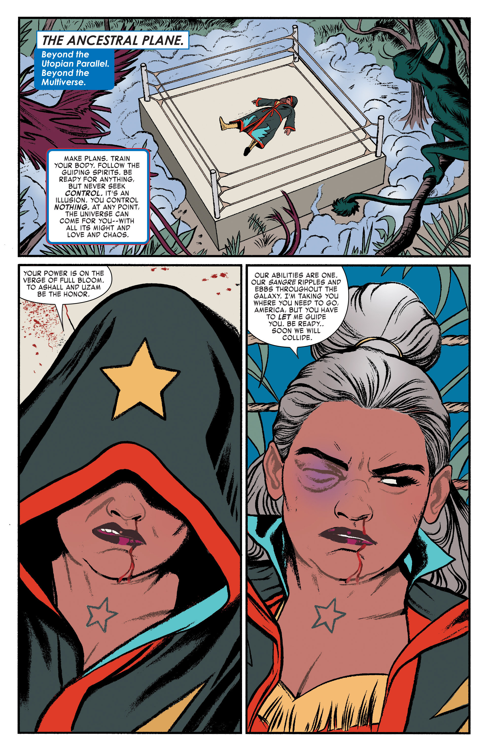 Read online America (2016) comic -  Issue #3 - 9