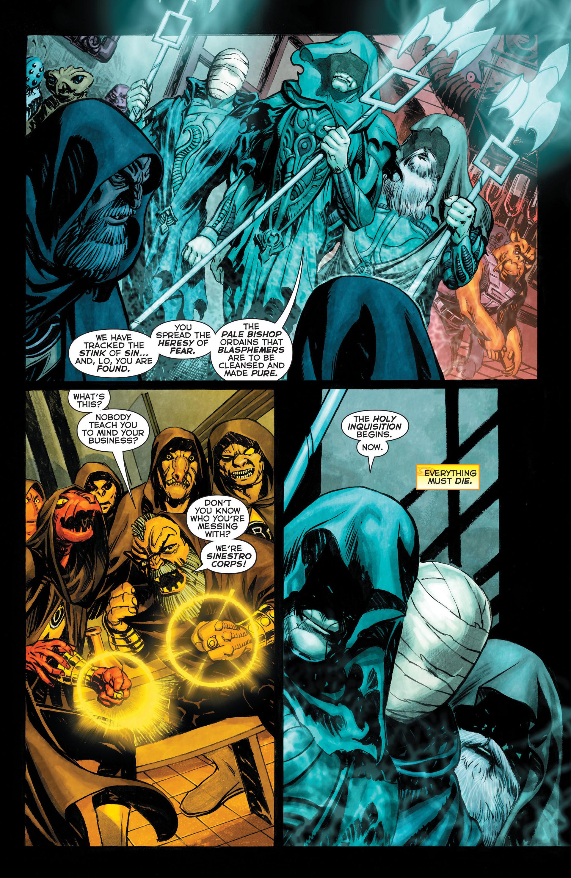 Read online Sinestro comic -  Issue #3 - 3