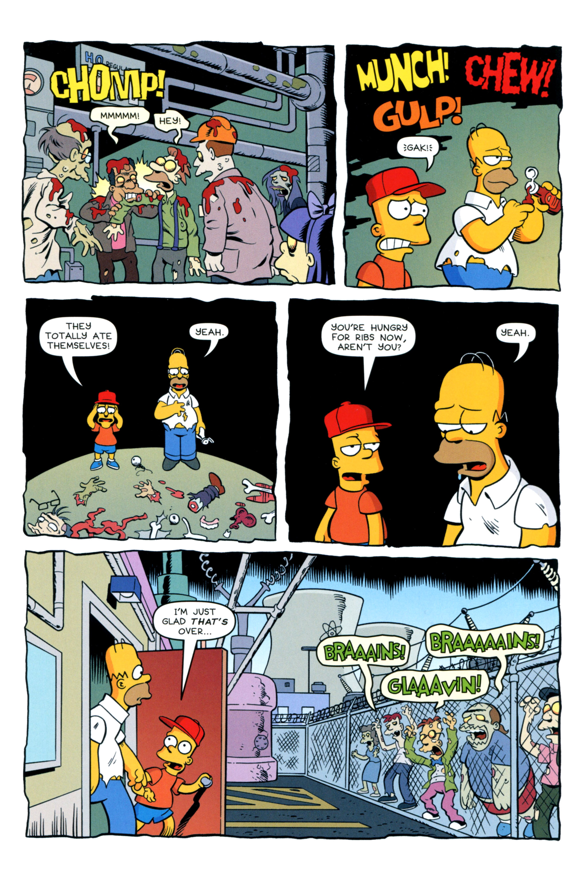 Read online Treehouse of Horror comic -  Issue #20 - 41
