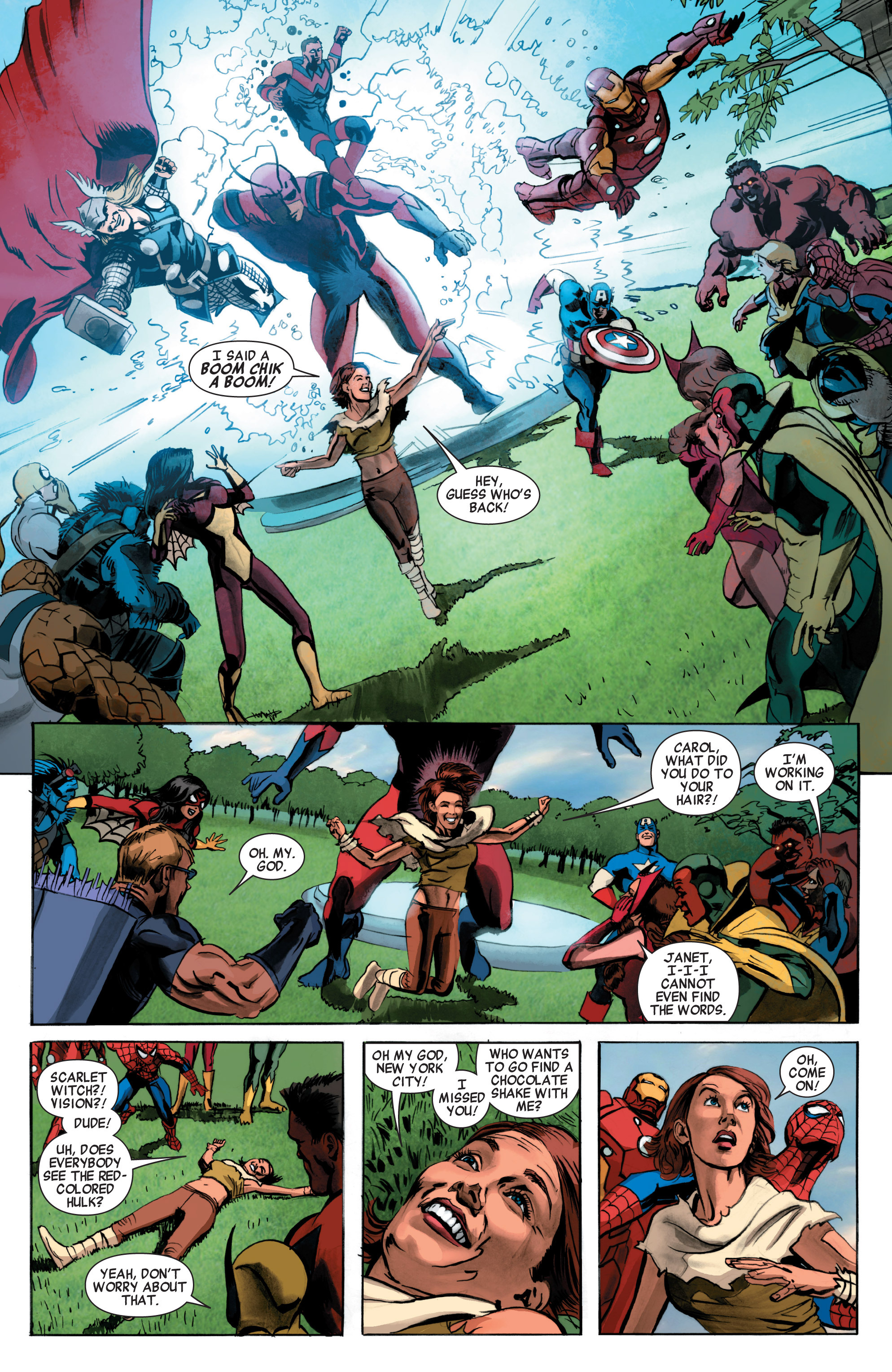 Read online Avengers (2010) comic -  Issue #34 - 22