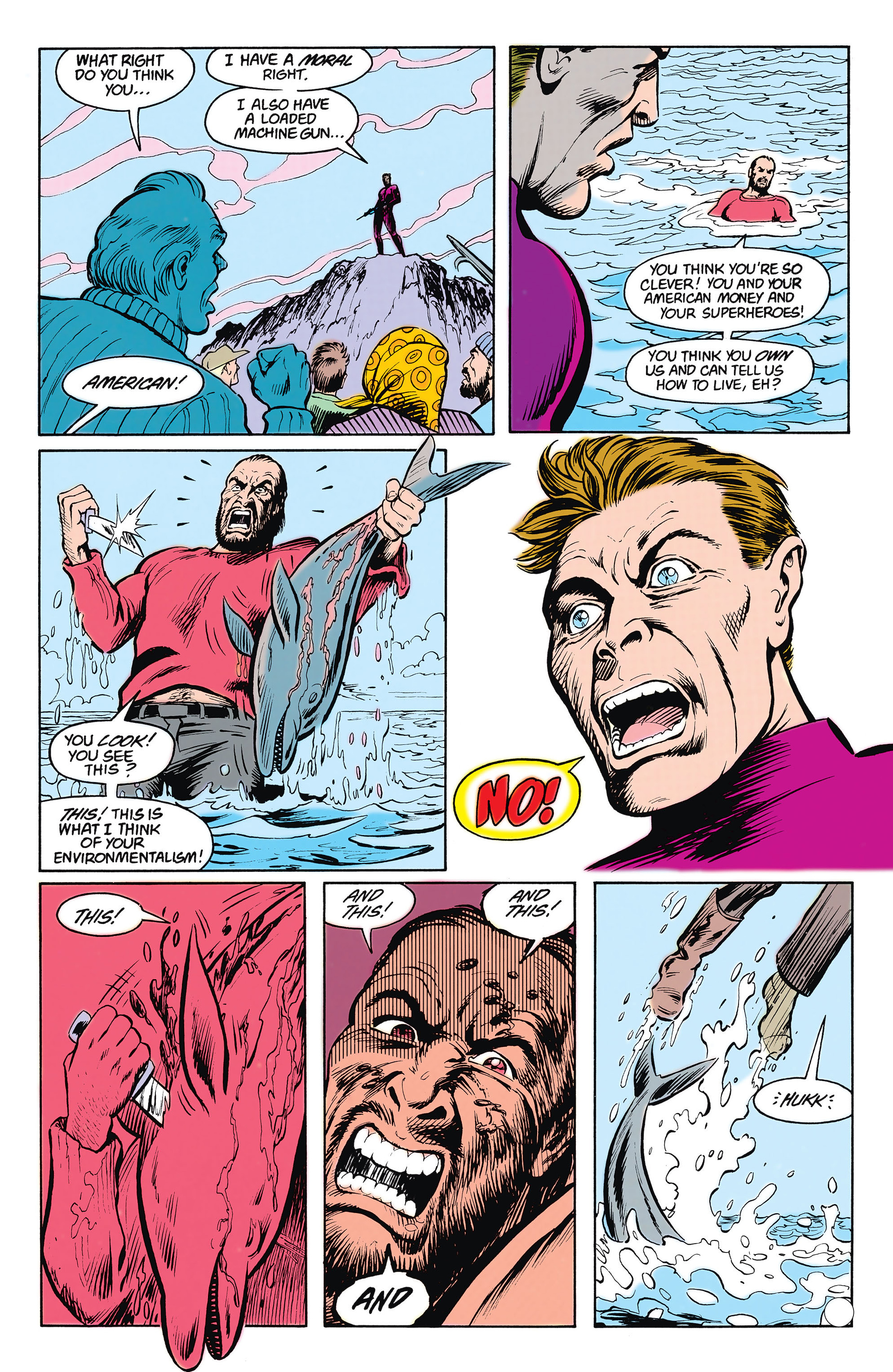 Read online Animal Man (1988) comic -  Issue #15 - 21