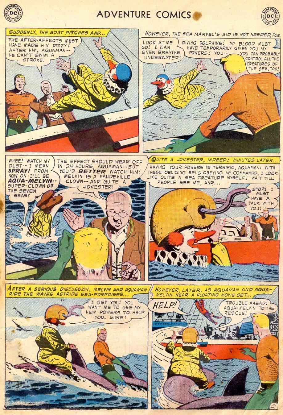 Read online Adventure Comics (1938) comic -  Issue #242 - 19