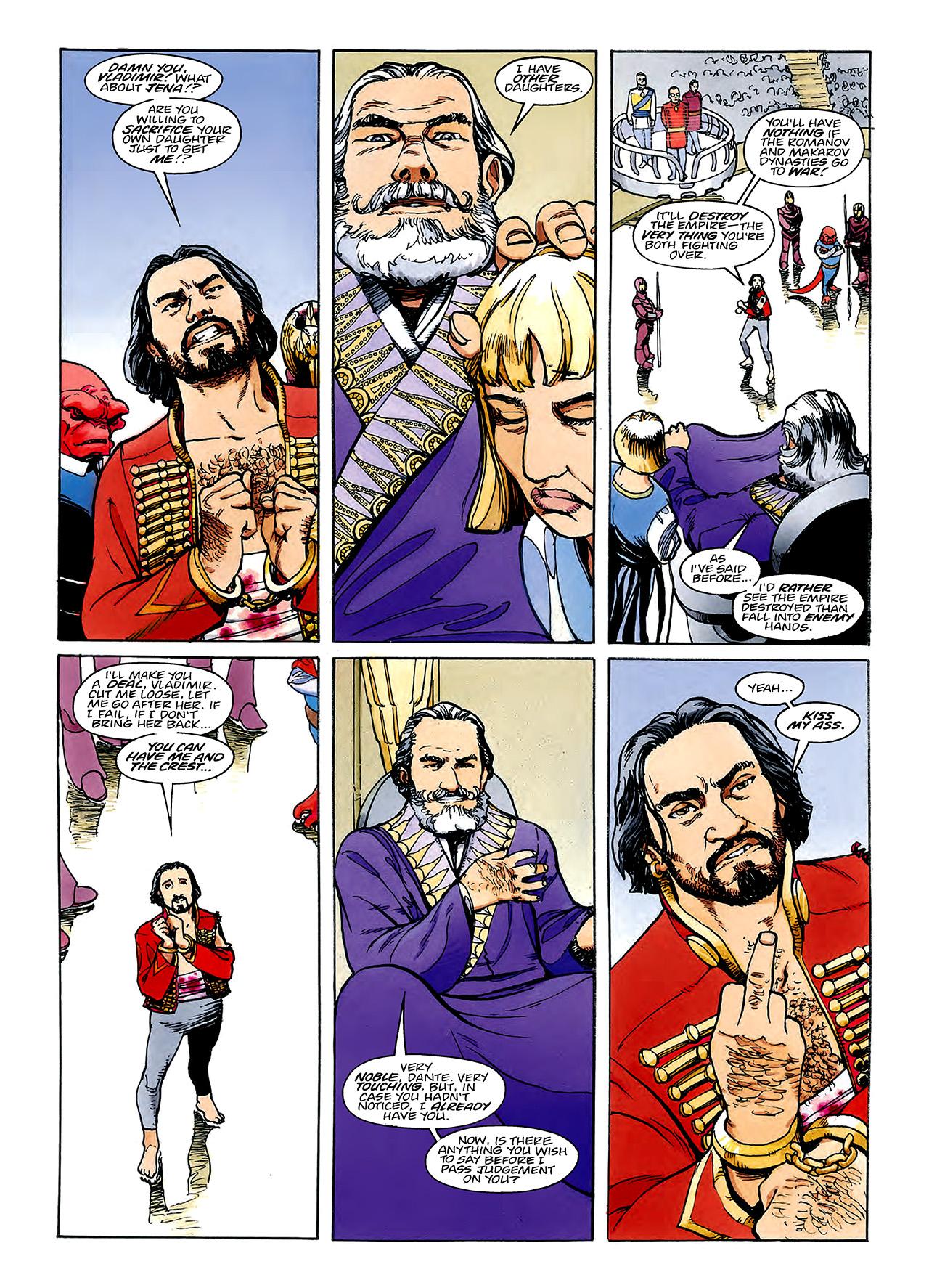 Read online Nikolai Dante comic -  Issue # TPB 3 - 88