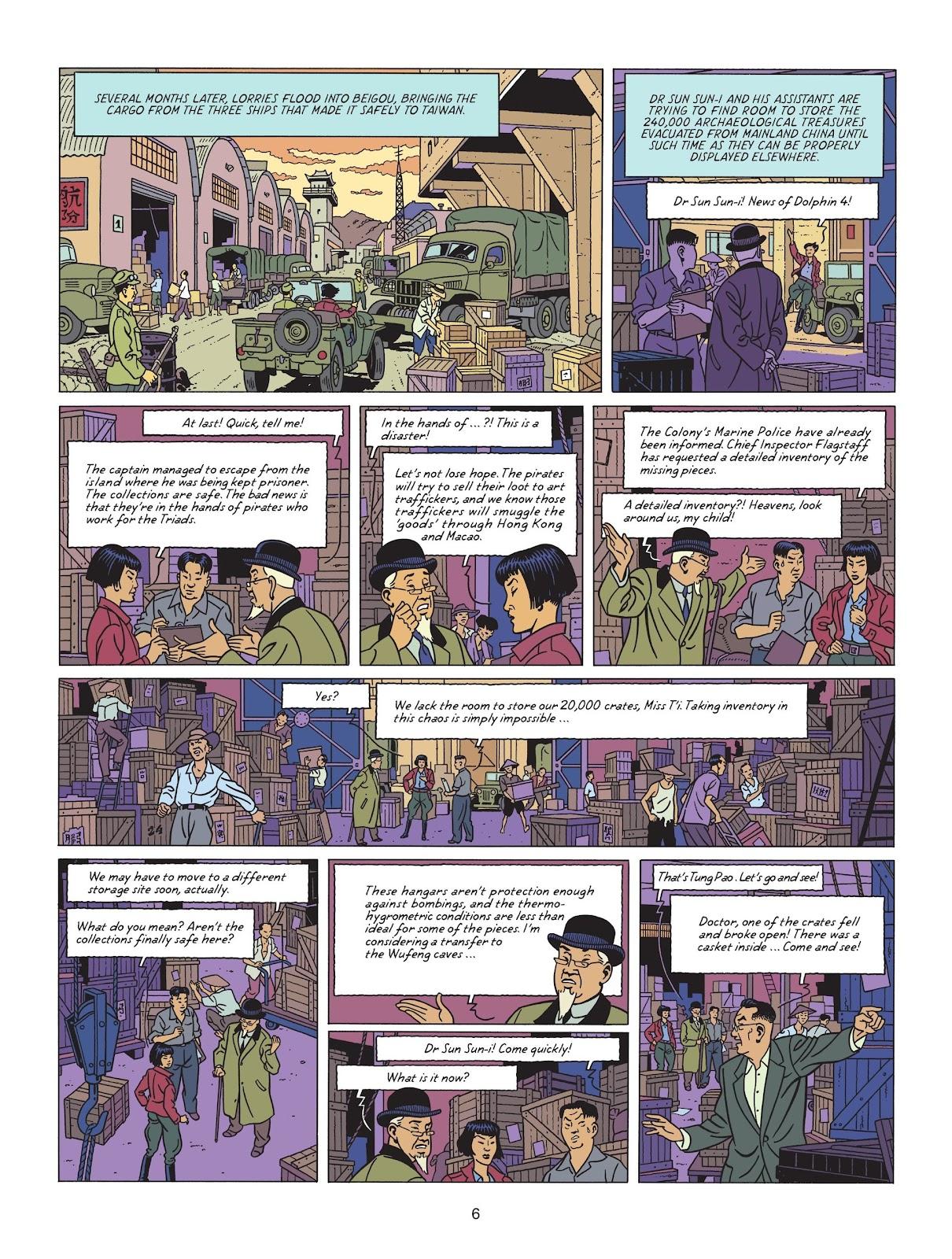 Read online Blake & Mortimer comic -  Issue #25 - 8