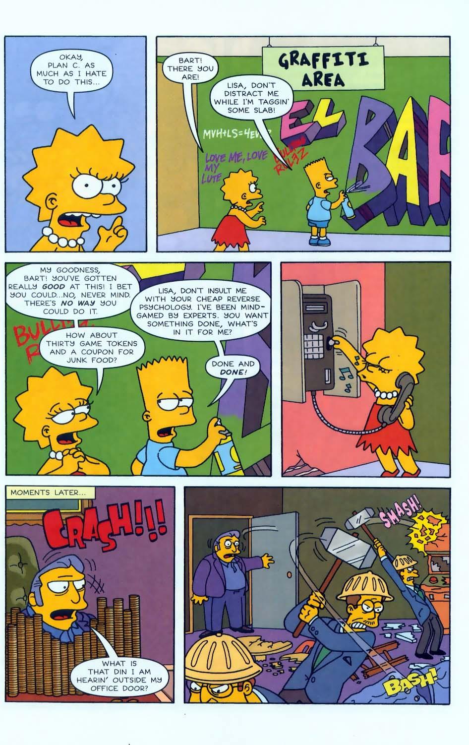 Read online Simpsons Comics comic -  Issue #50 - 76