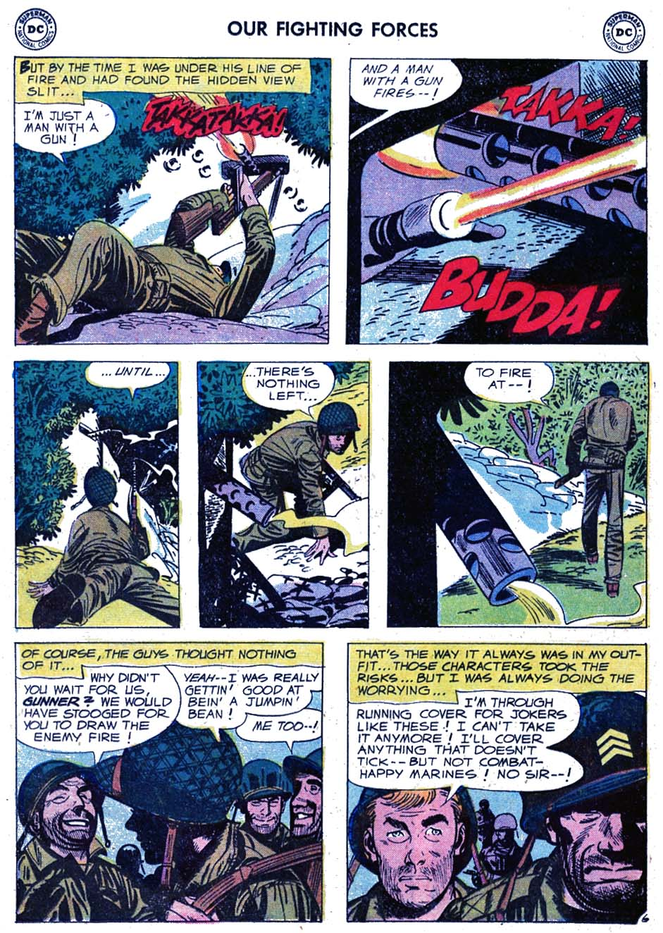 Our Fighting Forces (1954) issue 46 - Page 8