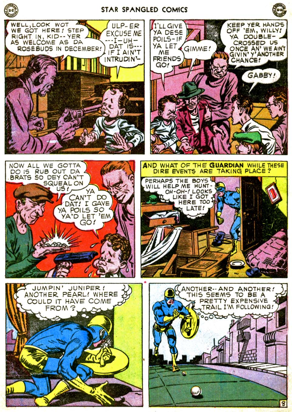Star Spangled Comics (1941) issue 56 - Page 10